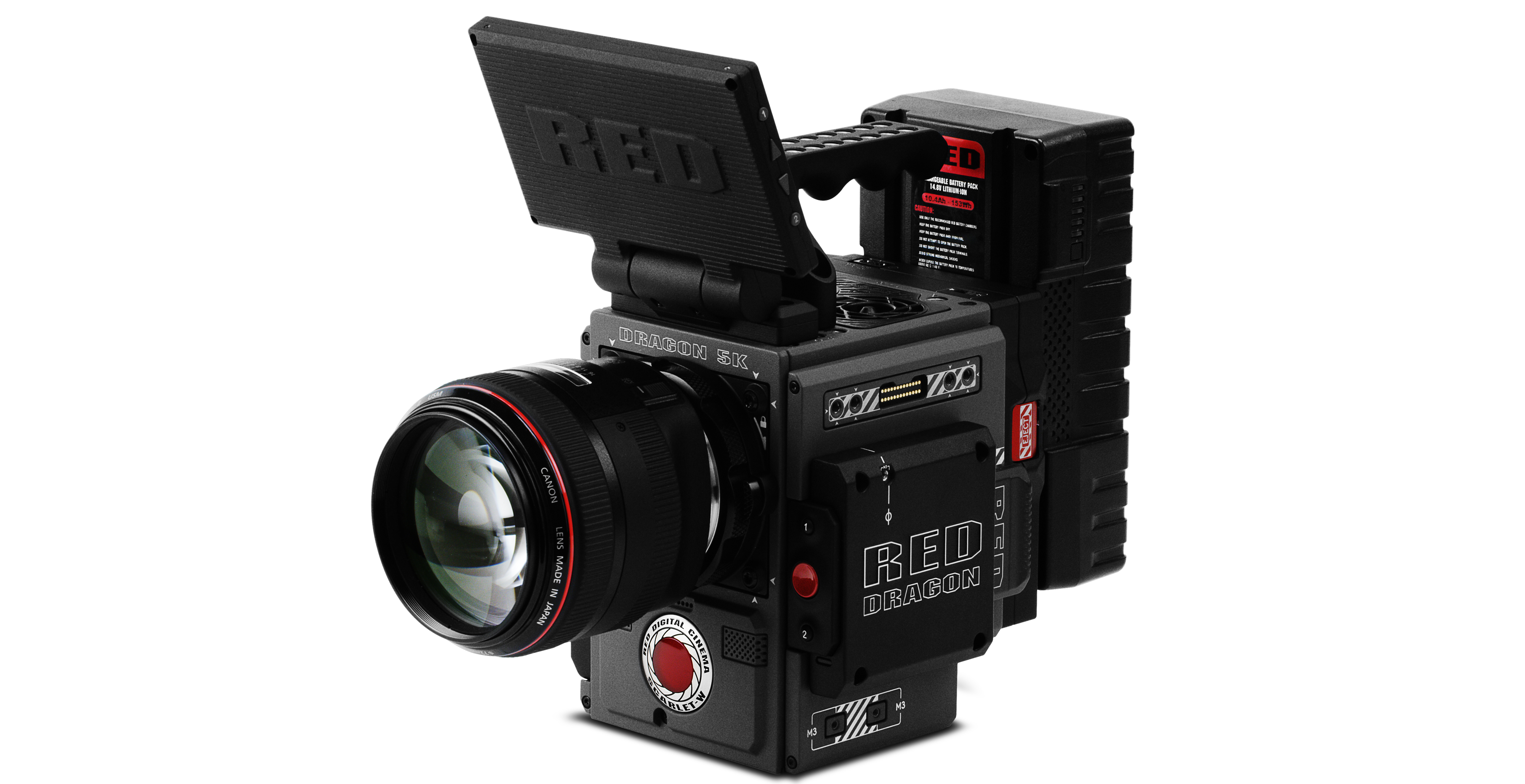4K Video Cameraman with RED Scarlet W